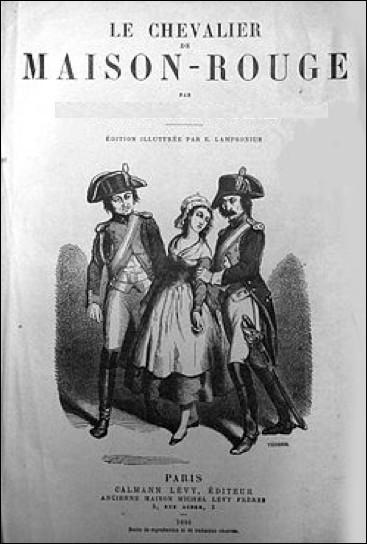 Qui est l'auteur du Chevalier de Maison-rouge, un roman historique de 1846 ?