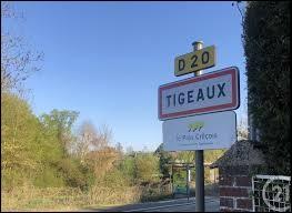Nous sommes à l'entrée de Tigeaux. Commune Seine-et-Marnaise, elle se situe en région ...