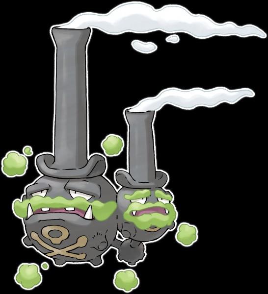 Dans Pokémon versions Épée et Bouclier, qui sortiront en novembre prochain, le concept de forme d'Alola a été repris pour la nouvelle région. Ainsi, Smogogo de Galar sera de quel(s) type(s) ?