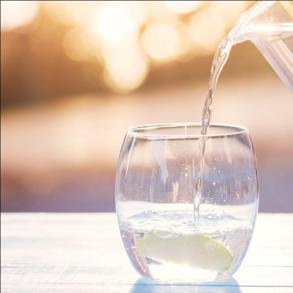 Quelle quantité d'eau faut-il boire par jour ?