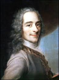 Quel est le prénom du philosophe Voltaire ?