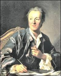 Quel est le prénom du philosophe Diderot ?