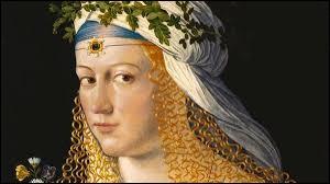 Lucrèce Borgia était la fille du pape Alexandre VI.