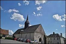 Nous sommes dans le Centre-Val-de-Loire, devant l'église Saint-Germain de Barlieu. Nous sommes dans le département ...