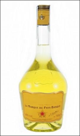 Quel est le nom de cette liqueur jaune, symbole du Pays basque ?