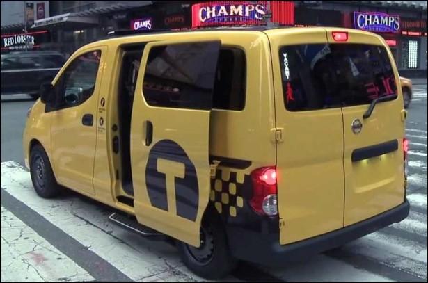 Dans quelle ville ce nouveau taxi jaune circule-t-il ?
