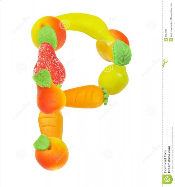 Plus facile pour les participants : donnez le nombre de fois où la lettre p est produite en première position dans cette proposition.