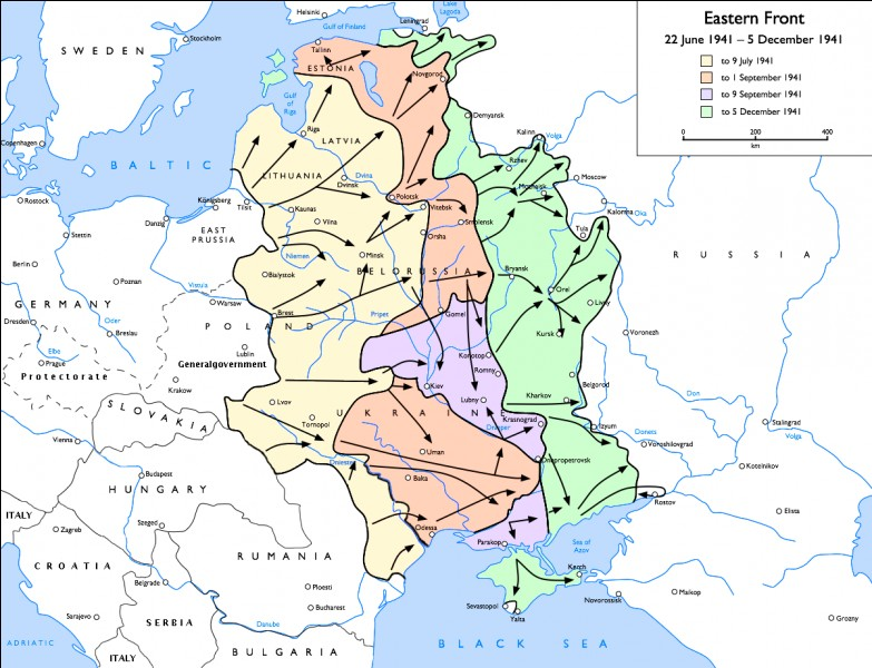 Durant cette opération, les pertes de l'Armée rouge sont colossales. Mais celles de la Ostheer (l'armée allemande du front de l'est) sont loin d'être négligeables, puisque du 22 juin 1941 au 22 janvier 1942 c'est en moyenne...