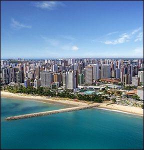 Où se situe Fortaleza ?