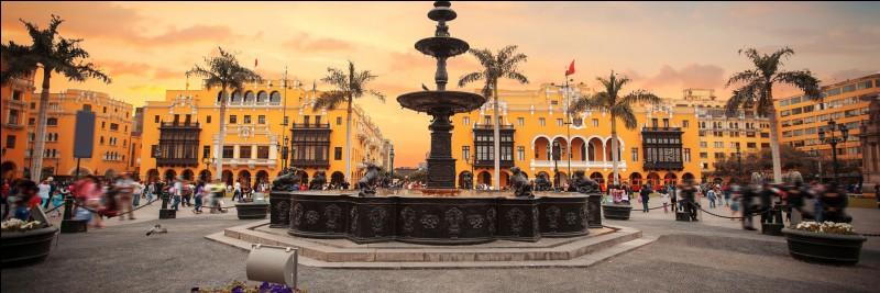 De quel pays le Pérou est-il devenu indépendant le 28 juillet 1821 ?