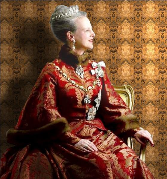 Margrethe II est la reine du Danemark.