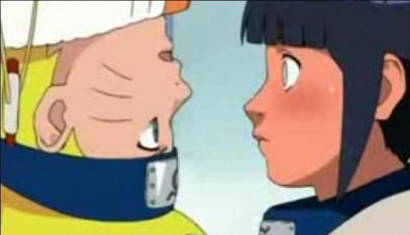 Quel est le nom de Hinata, la fille qui aime Naruto en secret ?
