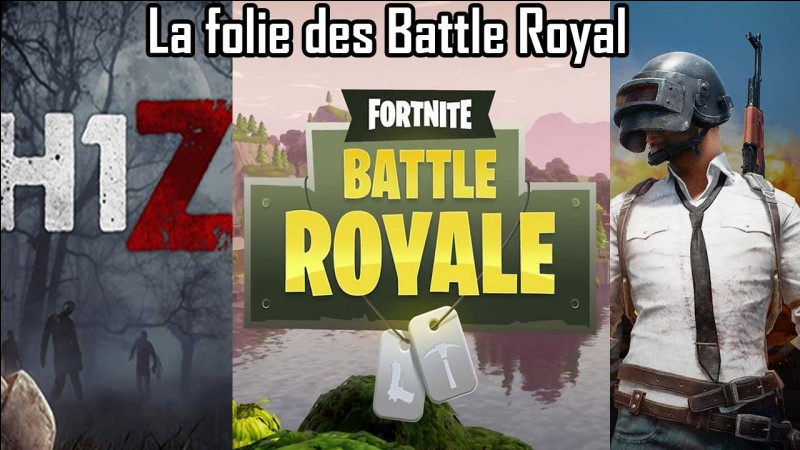 """Quel est le premier jeu à s'être servi du format """"Battle Royale"""" ?"""