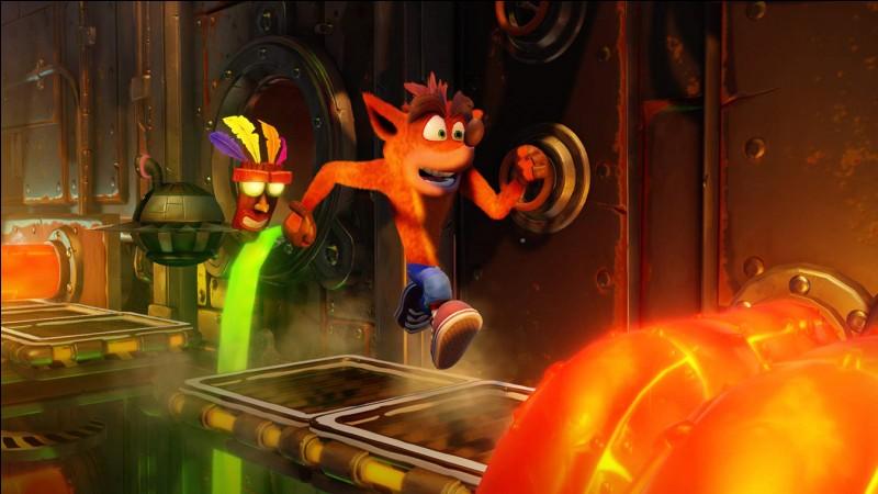 """Comment s'appelle le totem qui nous vient en aide, dans la licence """"Crash Bandicoot"""" ?"""