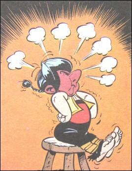 Année : 1969Lieux d'action : Pompaelo, Helmantica...Personnages : Namaspamus, Pépé, Soupalognon y Crouton...Ça peut aider : on y voit une caricature de Don Quichotte. Quel est cet album ?
