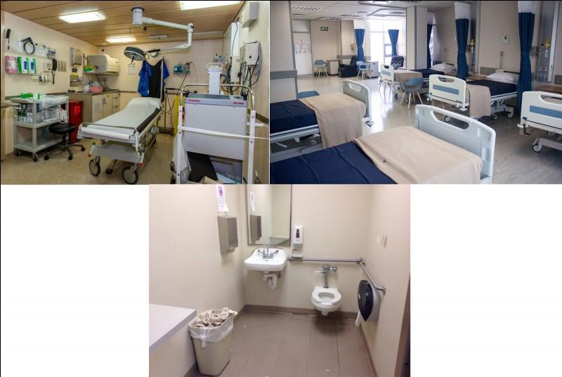 En cas d'accident, nous pouvons compter sur un infirmier présent pendant les vacances scolaires. Combien de lits de repos y a-t-il ici ?