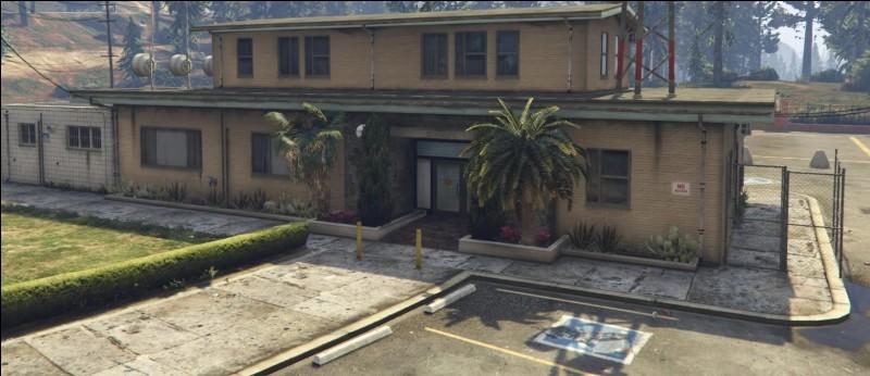 La colonie est sécurisée grâce à une dizaine d'agents de sécurité présents tout le temps. Dans le jeu vidéo GTA V, quel est ce bâtiment ?