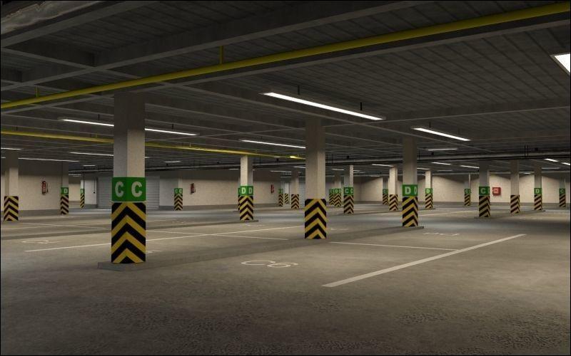 Ce parking est réservé au personnel. Quelle est sa particularité ?