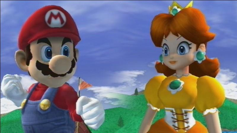 Daisy est le nom de la petite amie de Mario.