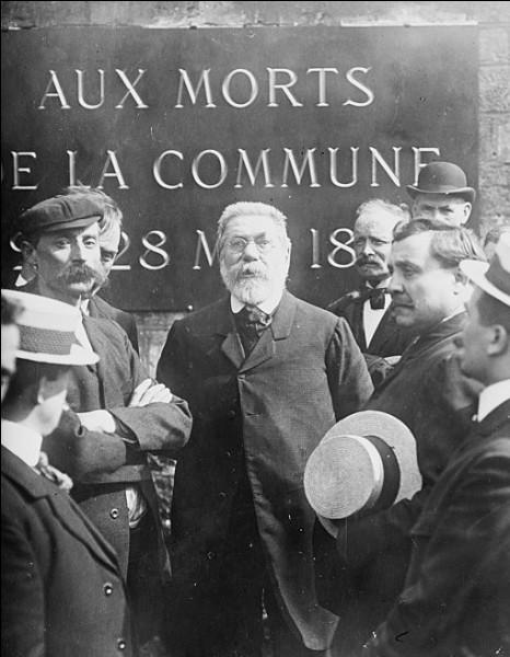 Cet homme politique, grande figure du socialisme français de la fin du XIXe et du début du XXe siècle, c'est ... Vaillant.