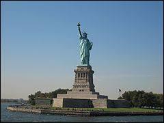 En quelle année la statue de la Liberté a-t-elle été inaugurée ?