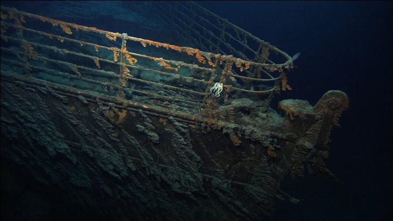 Quelle affirmation est fausse concernant l'épave du Titanic ?