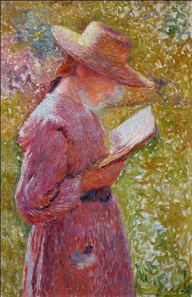 """De quel peintre """"Jeune femme lisant"""" est-elle l'œuvre ?"""