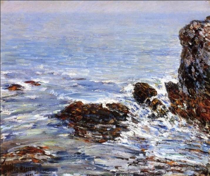 """Quel impressionniste américain est l'auteur du tableau """"Paysage marin"""" ?"""