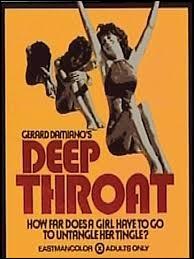 """On va tester votre """"anglais"""" maintenant ! Quel est ce film pornographique américain de 1972 écrit et réalisé par Gerard Damiano ?"""