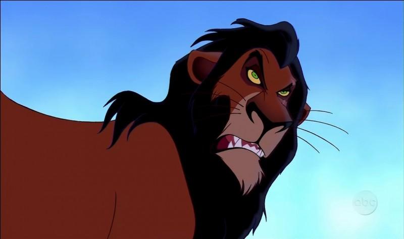 Comment se nomme le méchant frère de Mufasa ?