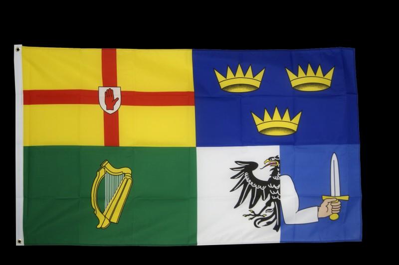 Ces 4 drapeaux correspondent à 4 provinces d'un pays. Mais lequel ?