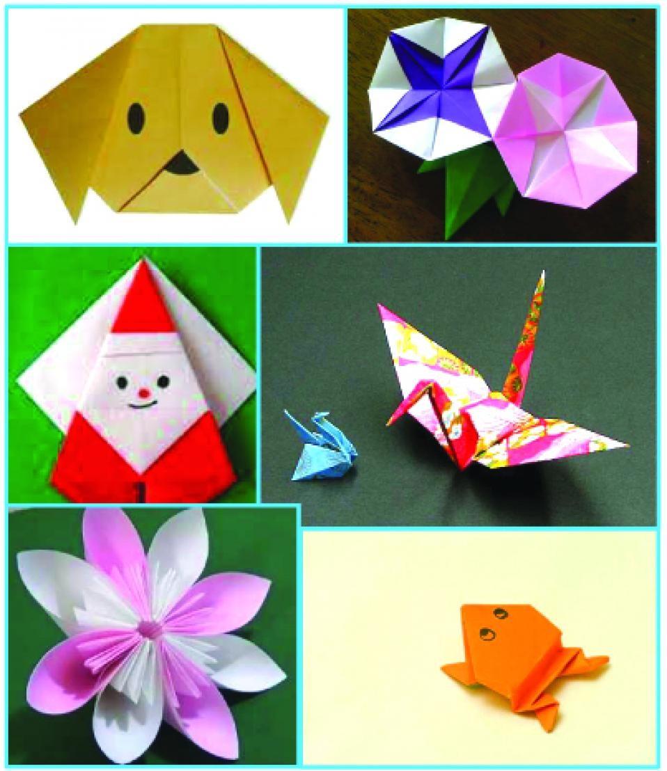 Apprenez à plier ! - Les origamis