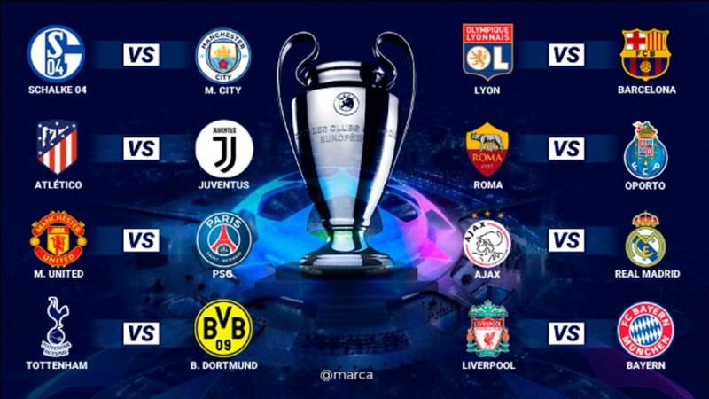 Pour qui étiez-vous lors de la dernière Ligue des champions ?
