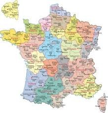 Saurez-vous situer ces communes ? (1873)