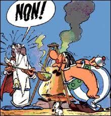 Pourquoi Panoramix lui interdit-il toujours de boire de la potion magique ?