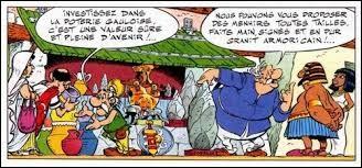 Le papa d'Obélix tient un commerce avec le père d'Astérix. Dans quelle ville ?