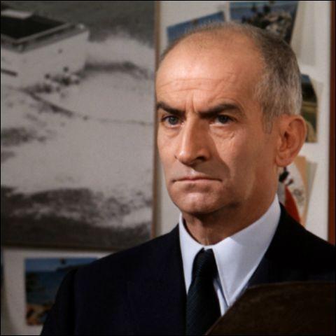 """Avec ses rôles dans """"Le Gendarme de Saint-Tropez"""" ou dans """"La Grande Vadrouille"""", il a été l'un des acteurs comiques les plus célèbres du cinéma français : il se prénomme ..."""