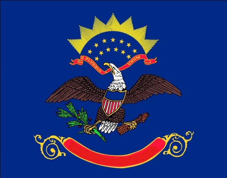 Quelle est la capitale de l'État arborant ce drapeau ?