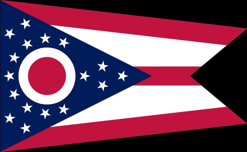 """Et celui-là, le seul drapeau d'État à avoir cette forme nommée """"guidon en queue d'aronde"""" ?"""