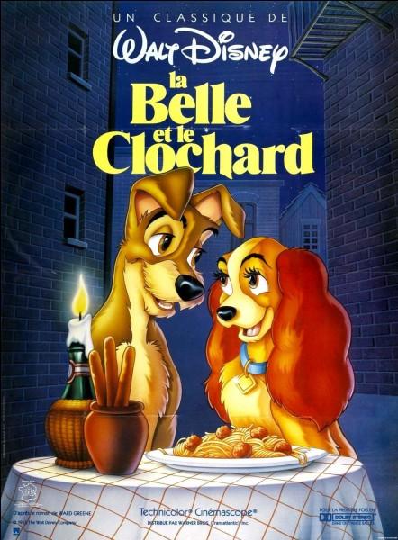 """Dans le dessin animé """"La Belle et le Clochard"""", de quelle race est La Belle ?"""