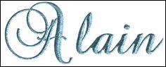 Les 'Alain' sont fêtés le 5 juillet.