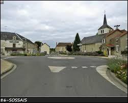 Commune Viennoise, Sossais se situe en région ...