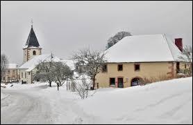 Petit coup de froid avec cette vue du Haut-du-Tôt. Village Vosgien, il se situe en région ...