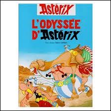 """Dans """"L'Odyssée d'Astérix"""", Panoramix a réussi a remplacé l'huile de roche par du jus de pomme."""