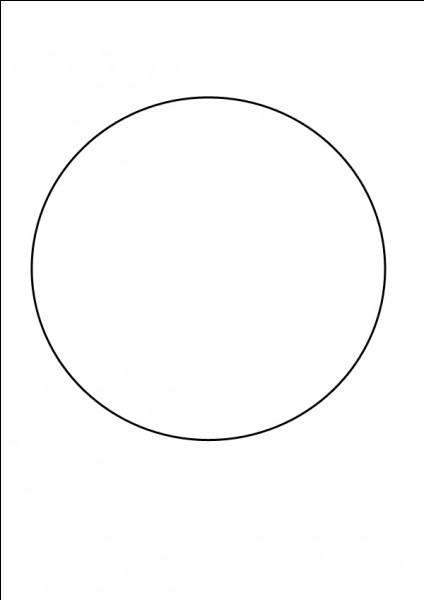 Avec quel matériel peux-tu faire des cercles ?