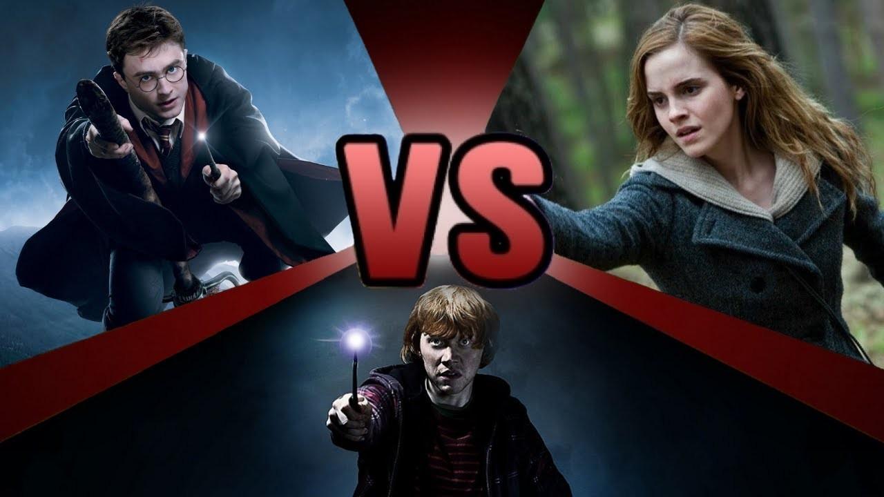 Harry Potter, Hermione Granger ou Ronald Weasley ?