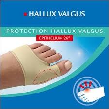 Epitact assure qu'il peut soulager votre hallux valgus !Quel terme est plus couramment utilisé pour désigner ce problème ?