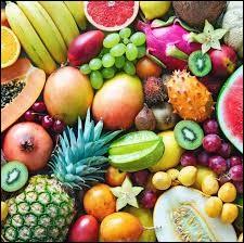 Je lave mes fruits avant de les manger.