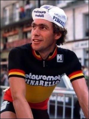 Ce coureur cycliste belge, spécialiste de la montagne, a remporté le Tour de France en 1976. C'est ... Van Impe.
