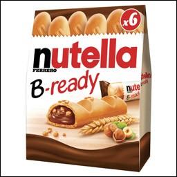 """Quel est ce biscuit au """"Nutella"""" que tous les enfants adorent ?"""